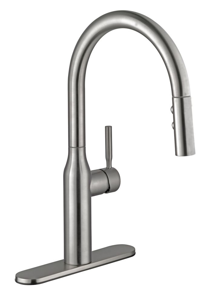 2600 Series Pulldown Kitchen Faucet In Stainless Steel 67553-0108D2 Canada Discount