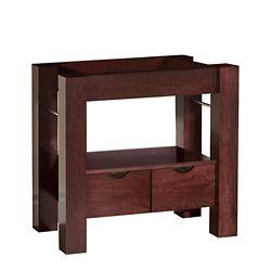 Magick Woods Sonata 31.25-inch W 2-Drawer Freestanding Vanity in Mahogany