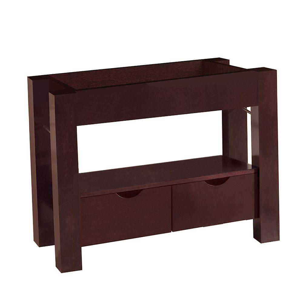 Base de meuble-lavabo Sonata de 97,15 cm [38 1/4 po] larg.