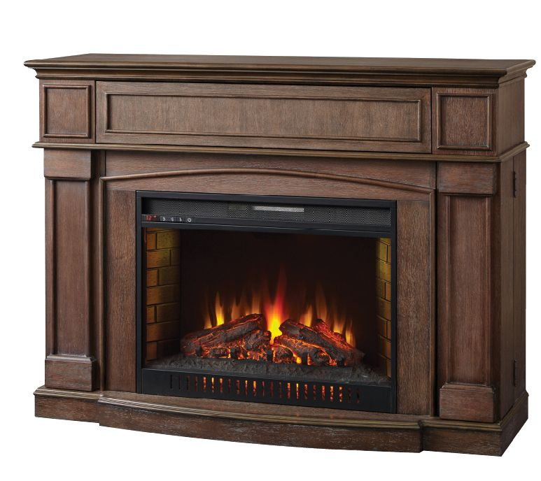 Electric Fireplace Heaters Home Depot: Marlene 56 Inch Infrared Electric Fireplace Mantel