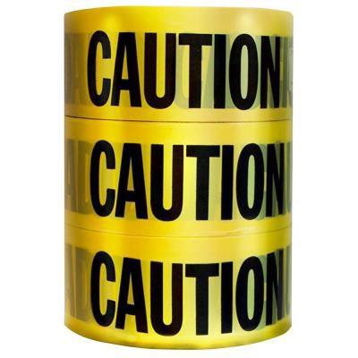 Hdx 3-Pk Caution Tape 3x1000 Feet