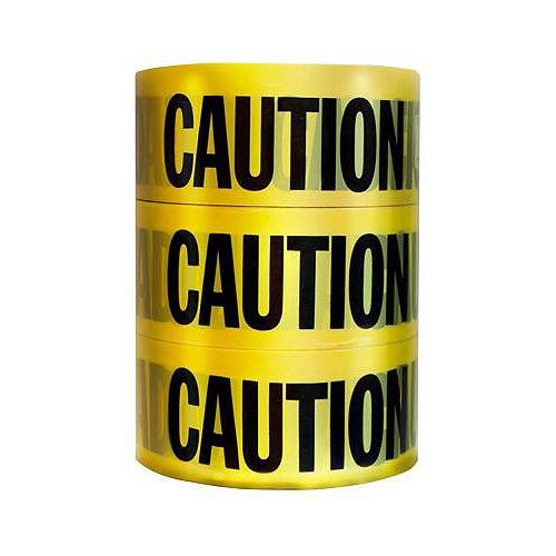 Empire 3-inch x 1000 ft. Caution Tape (3-Pack)