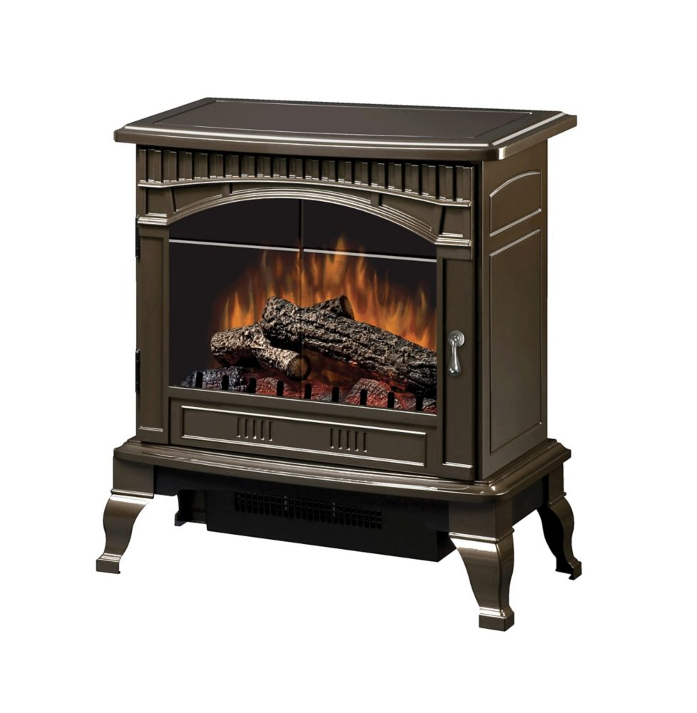 Hampton bay mokeno gloss black stove the home depot canada - Small space wood stove model ...