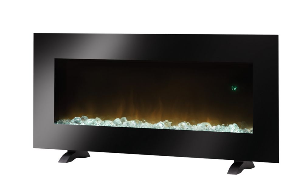 Galine Wall-Mounted LED Fireplace