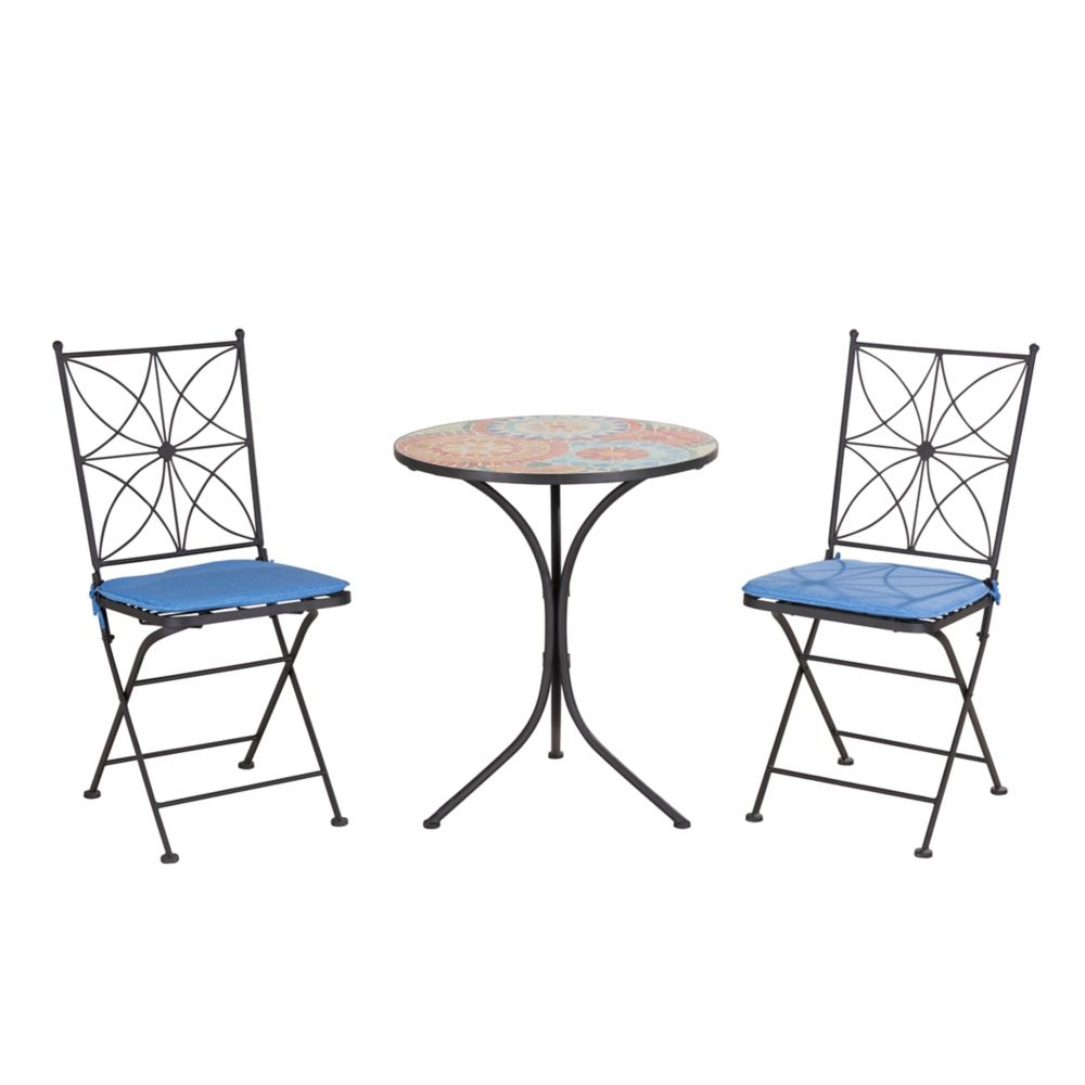Hermosa bistro set d bs958sal canada discount for Affordable patio furniture sets