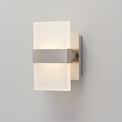 home decorators collection 2 light brushed nickel wall sconce the