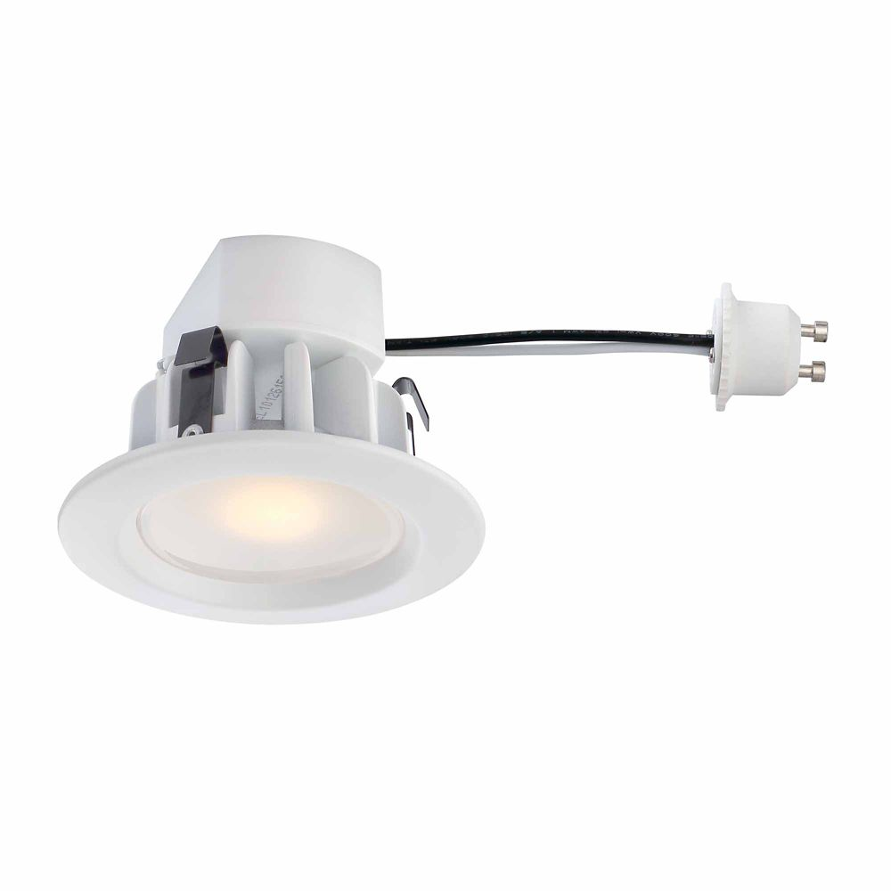 Commercial Electric Recessed LED White Retrofit Trim GU10 Adaptor - 3 Inch - ENERGY STAR®