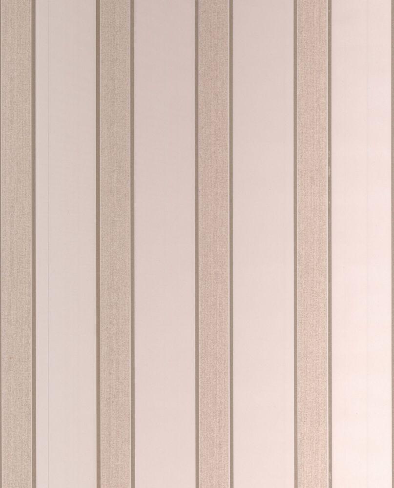 Duc Papier Peint Crème, Blanc - échantillon