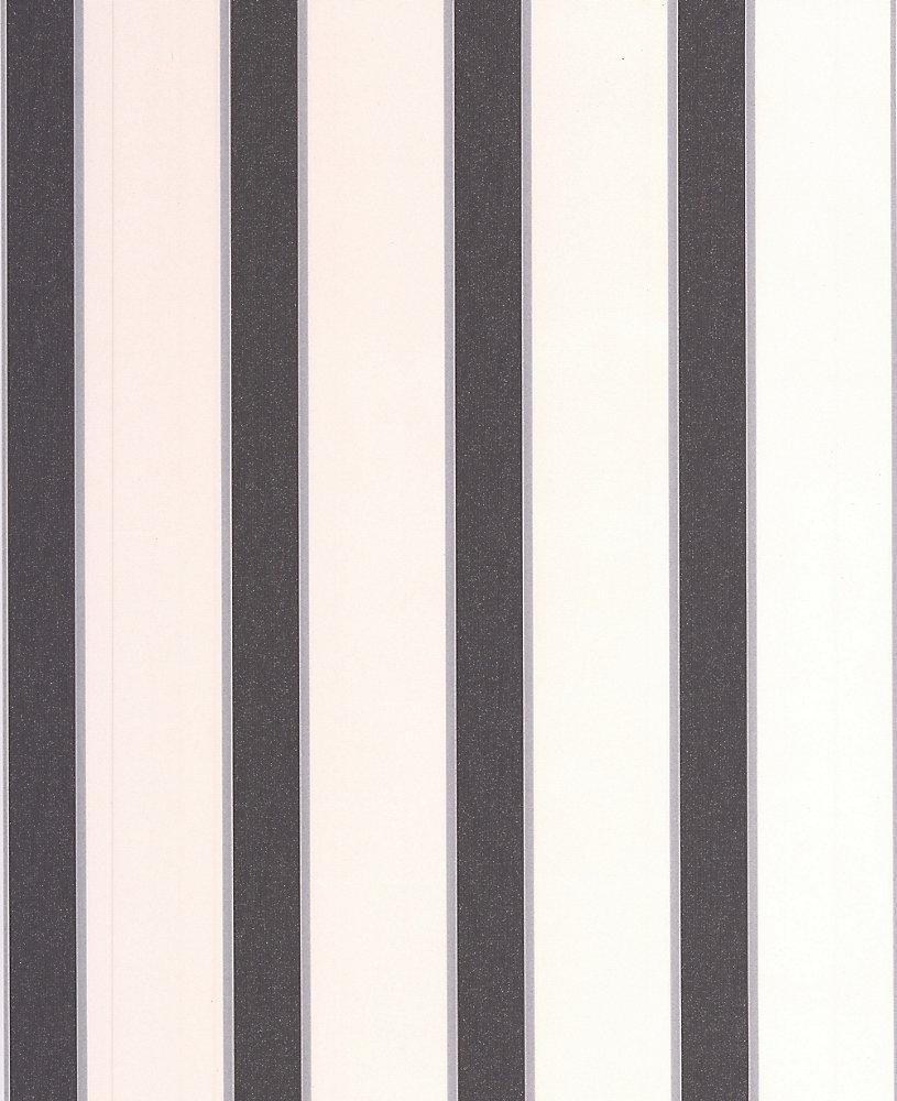 Duc Papier Peint Noir, Blanc - échantillon