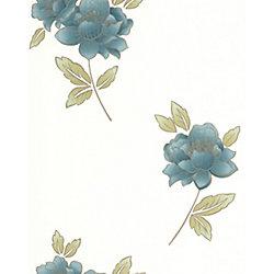 Graham & Brown Lulu Papier Peint Vert - échantillon