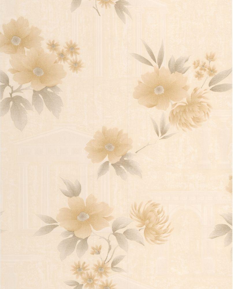 Rome Gold Wallpaper Sample