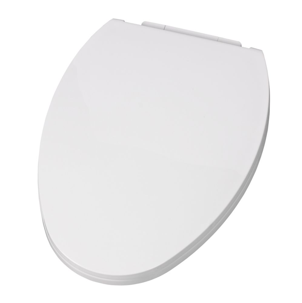 wooden d shaped toilet seat. Optum Elongated Slow Close Toilet Seat Seats  The Home Depot Canada