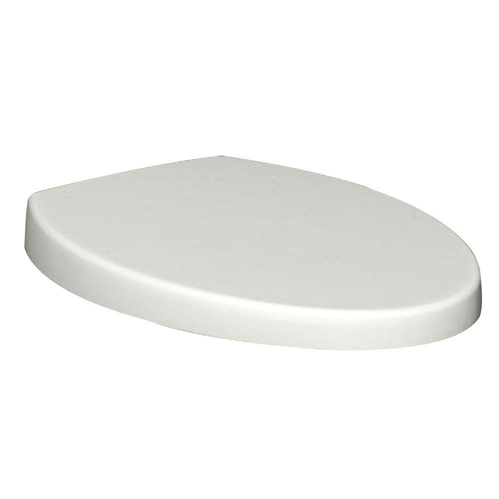 American Standard Champion Top Mount Telescoping Slow Close EverClean Elongated Closed Front Toilet Seat in White