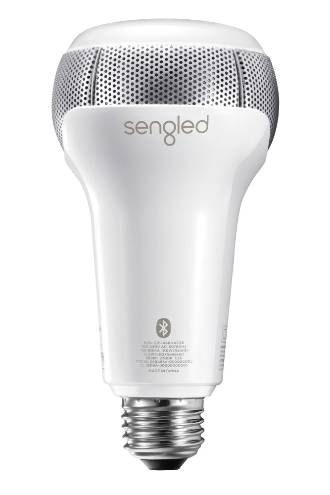 Pulse Solo - Dimmable LED light with Stereo Bluetooth Speakers