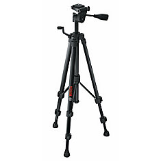 Compact Tripod with Extendable Height for Use with Bosch Line and Point Lasers and Laser Measures