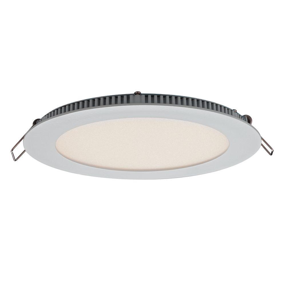 Illume Ultraslim 6 Inches Recessed Round LED Panel Light