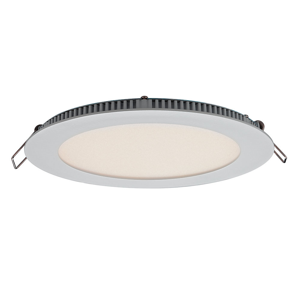 Ultraslim 6-inch Recessed Round LED Panel Light - ENERGY STAR®