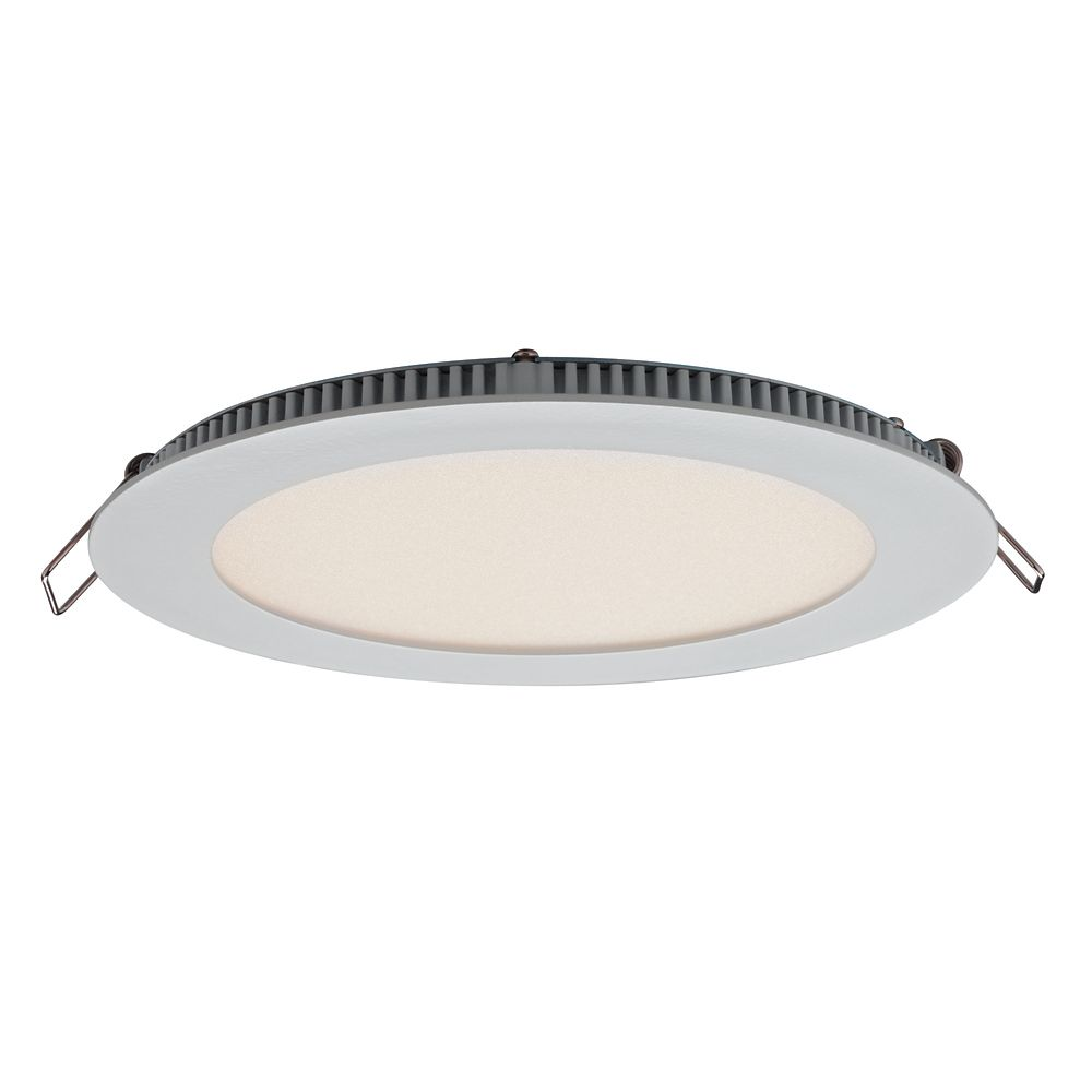 Illume Ultraslim 6 Inches Recessed Round LED Panel Light
