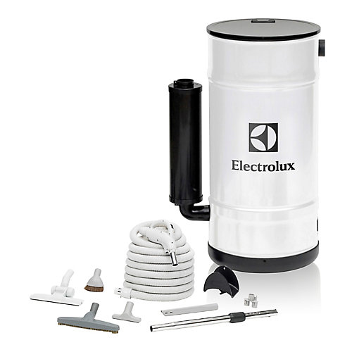 550 Air Watt Central Vacuum with Hard Floor Cleaning Set