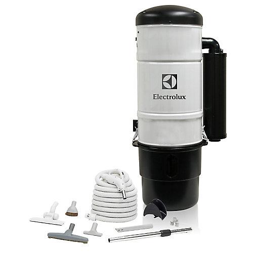 600 Air Watt Central Vacuum with Hard Floor Cleaning Set