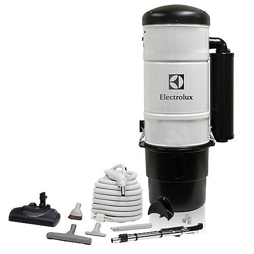 600 Air Watt Central Vacuum with Superior Carpet Cleaning Set