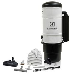 Electrolux 600 Air Watt Central Vacuum with Superior Carpet Cleaning Set
