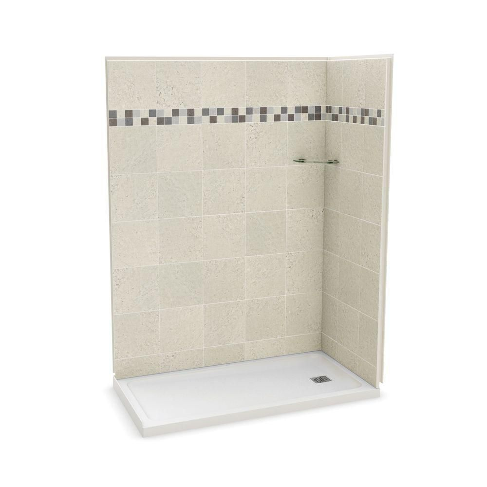 MAAX Biarritz P40 32-inch x 29-inch 1-Piece Shower Stall | The Home ...