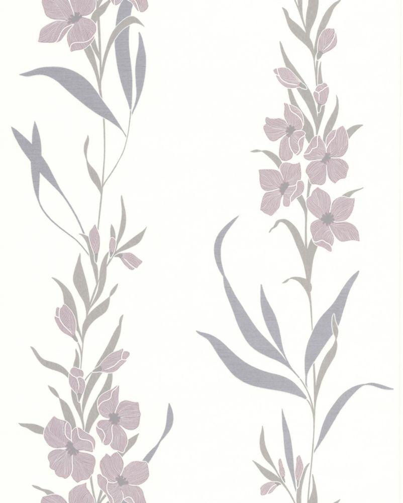 Jardin Lavender Wallpaper Sample