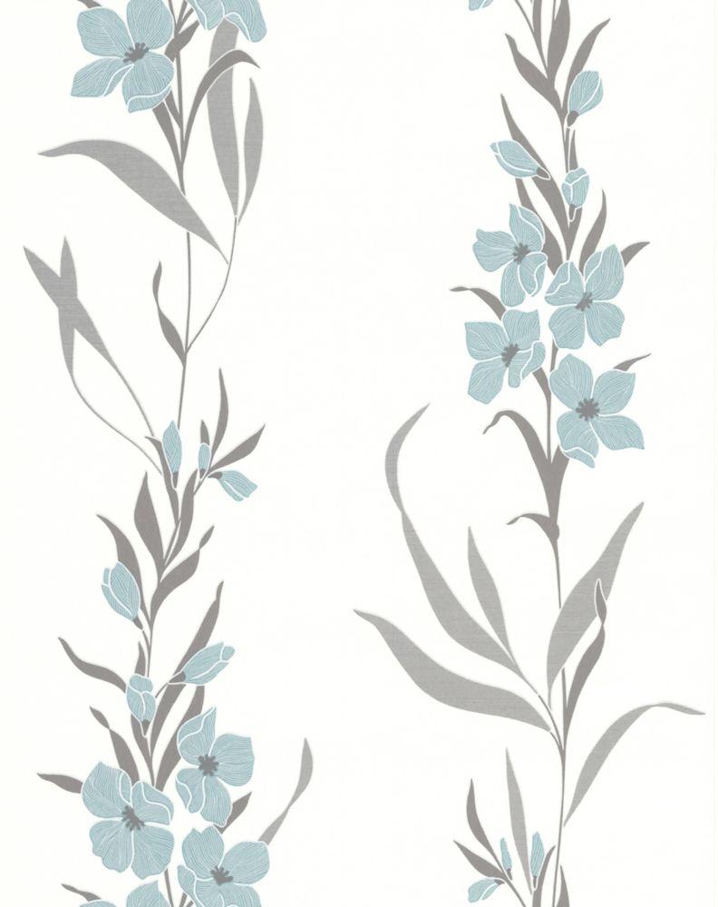 Jardin Duck Egg Wallpaper Sample 32-43594 Canada Discount