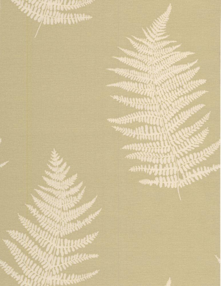 Verdoyant Papier Peint Vert - échantillon