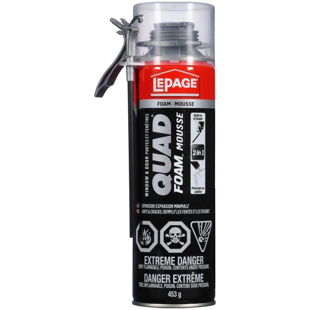 Quad Foam, Gun or Straw Applicator