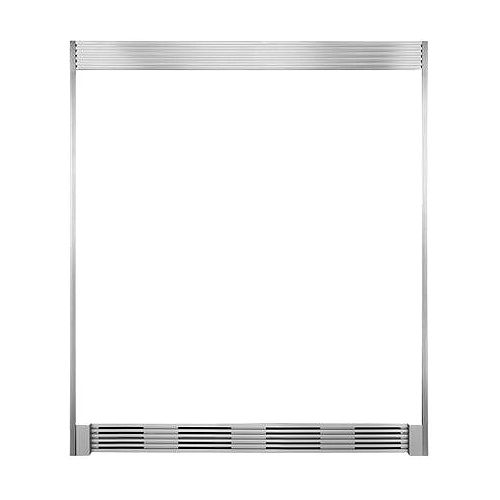 Electrolux Double Louvered Trim Kit in Smudge Proof Stainless Steel