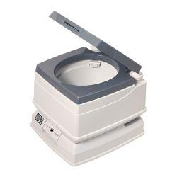 Dock Edge Visa Potty 24L Portable Flush Toilet in Grey