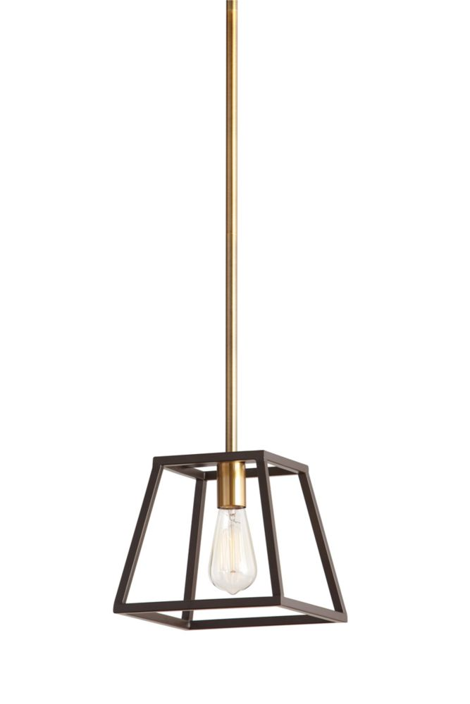 HDC 1 Light Two Tone Retro Pendant