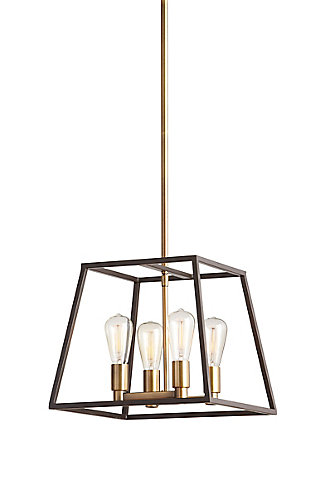 Home decorators collection hdc 4light two tone retro pendant the hdc 4light two tone retro pendant mozeypictures Gallery