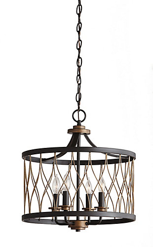 Home decorators collection hdc 4 light orb gold pendant the home depot canada