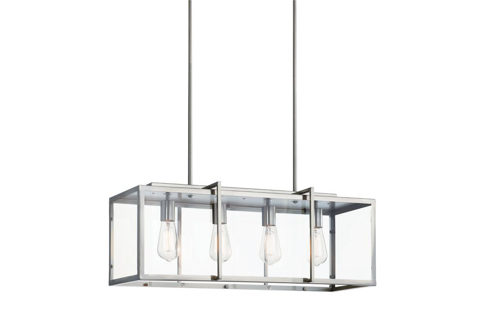 Home Decorators Collection 4 Light Pendant The Home Depot Canada