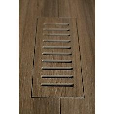 Les couvercles porcelaines de ventilation fait pour correspondre Aged Teak Plank. Taille 5