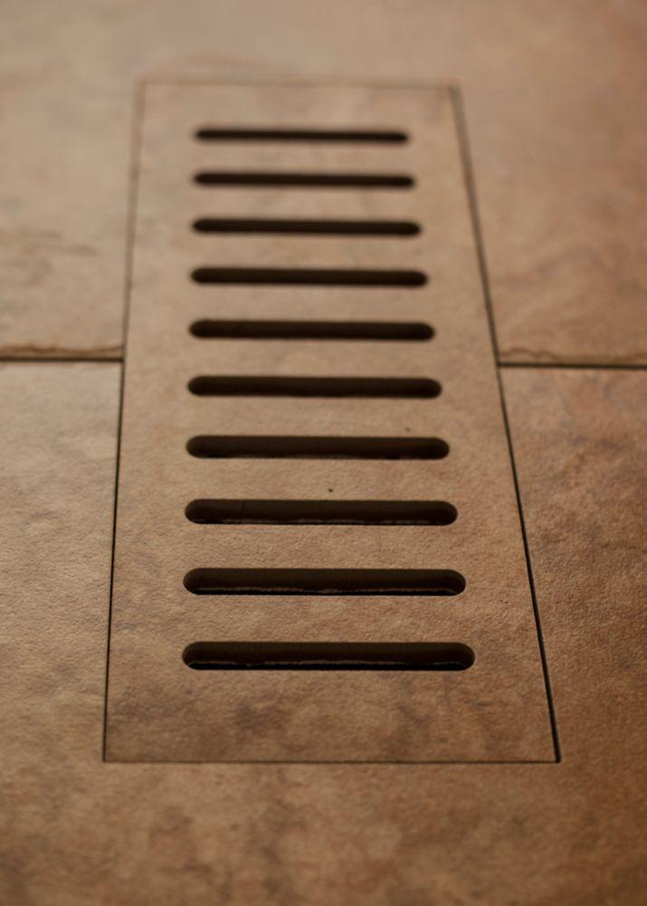 """Les couvercles porcelaines de ventilation fait pour correspondre Lancaster Brown. Taille  5"""" x 11..."""
