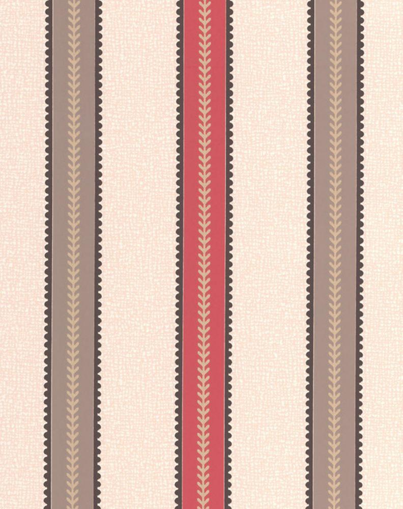 Récolte Papier Peint Rouge - échantillon