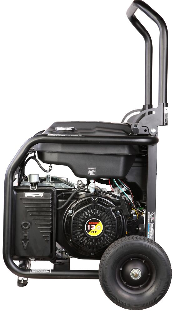 Firman 7000 Watt 13 HP Remote Start Gas Powered Portable Generator and Combo Kit
