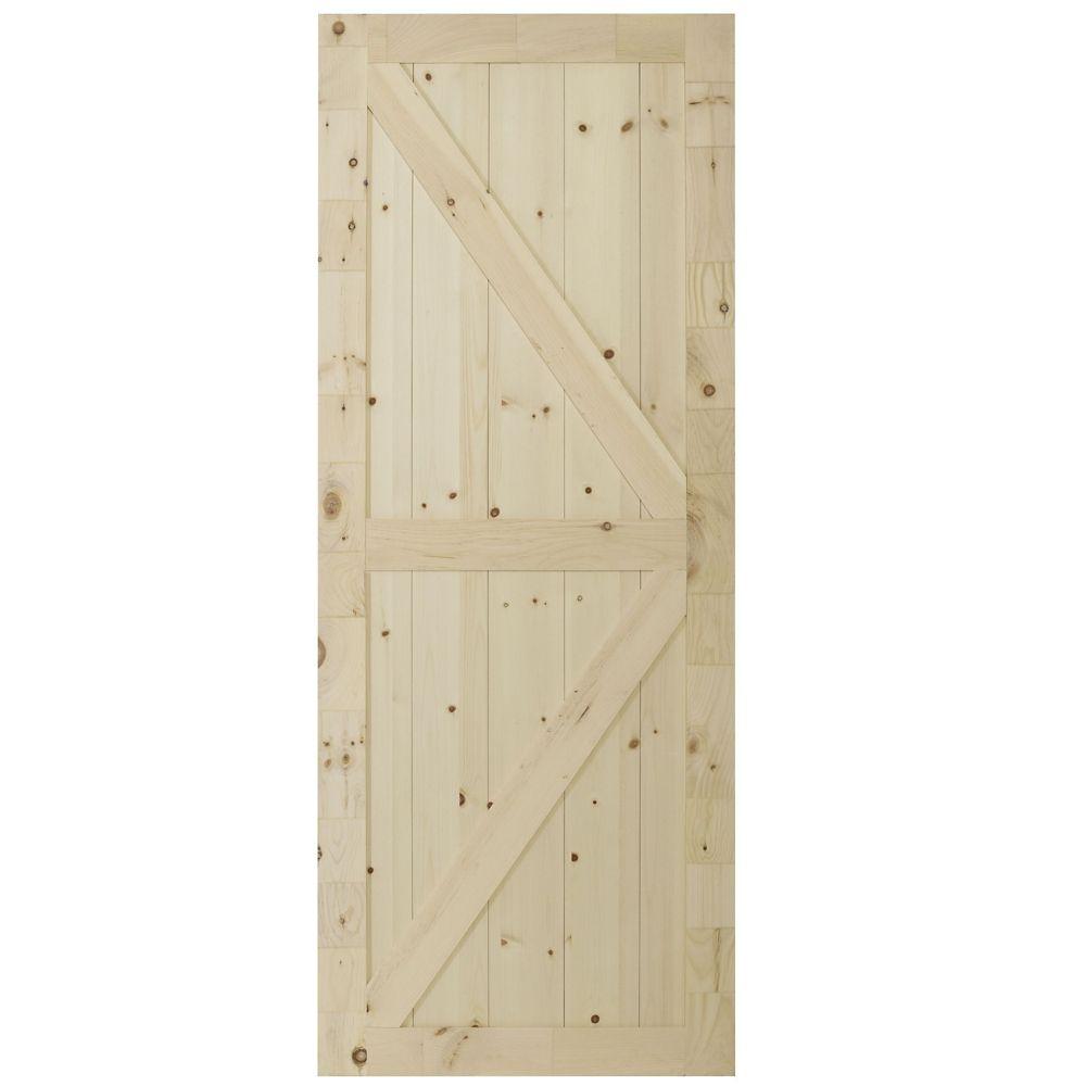 Artisan Pine Door 1 Inch  X 33 X 84 Inch