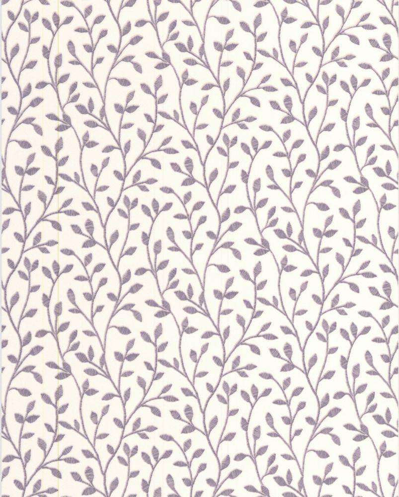 Boho Lavender Wallpaper Sample