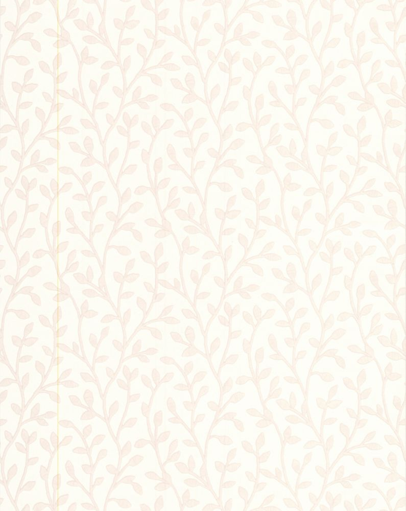 Boho White Mica Wallpaper Sample