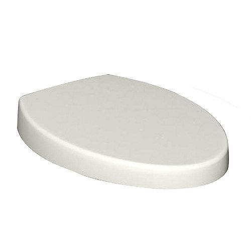 American Standard Champion Top Mount Telescoping Slow Close EverClean Round Closed Front Toilet Seat in White