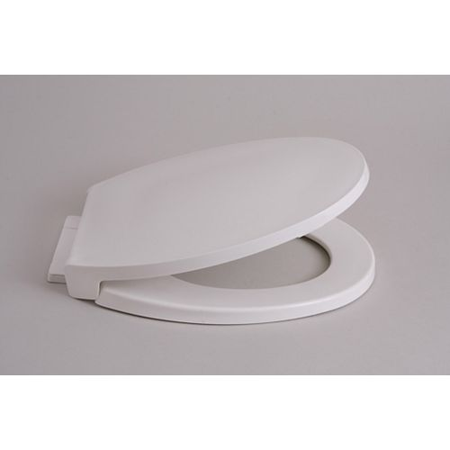 American Standard Siège de toilette avant fermé Optum Round Slow en blanc