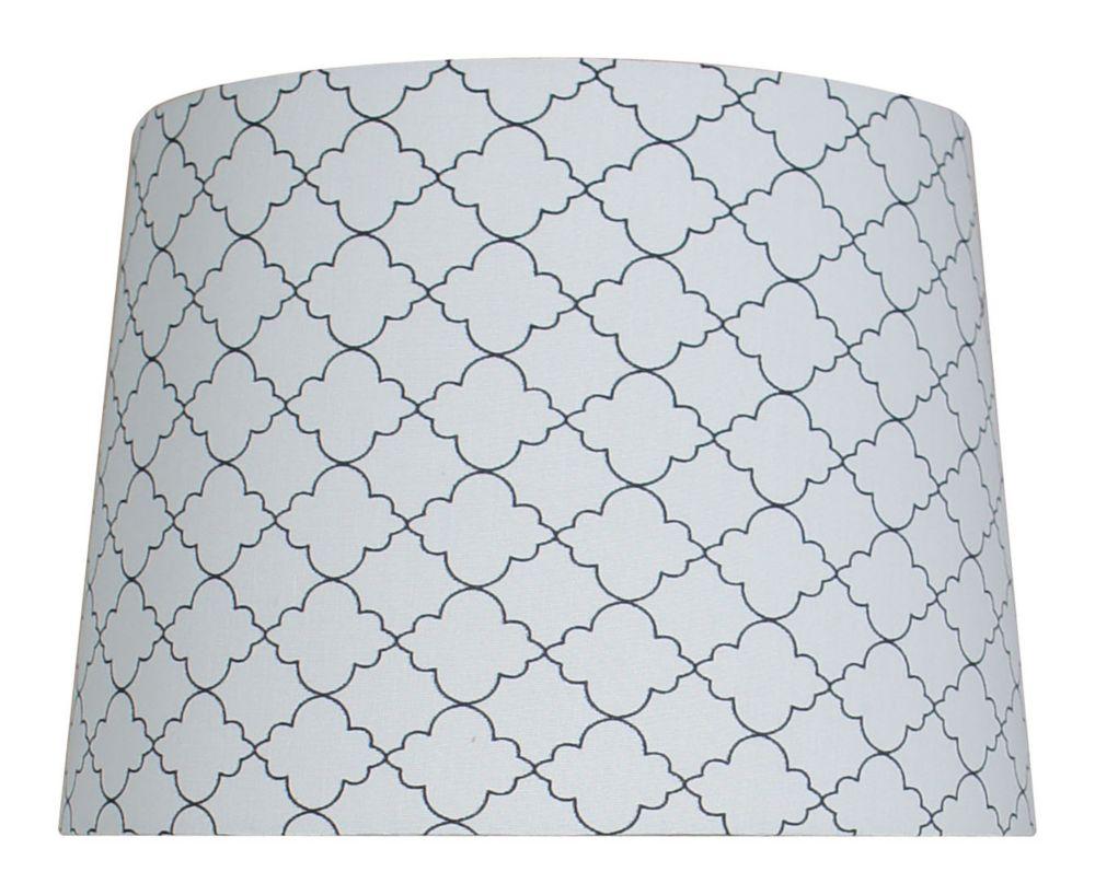 10  Inch  Quatrofoil Table Shade