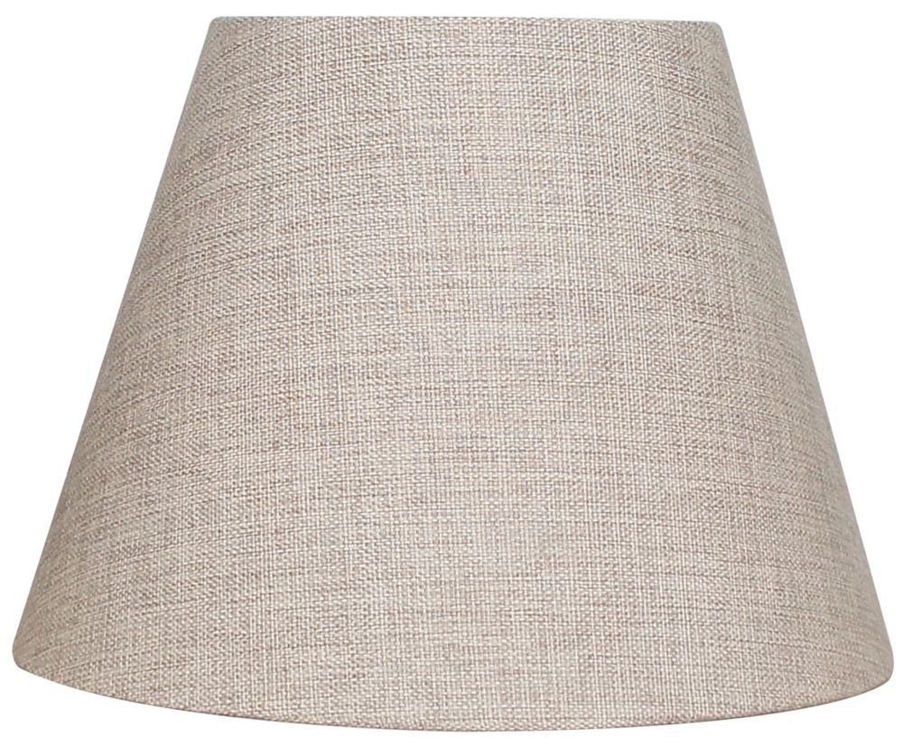 10.5  Inch  Beige Bell Table Shade