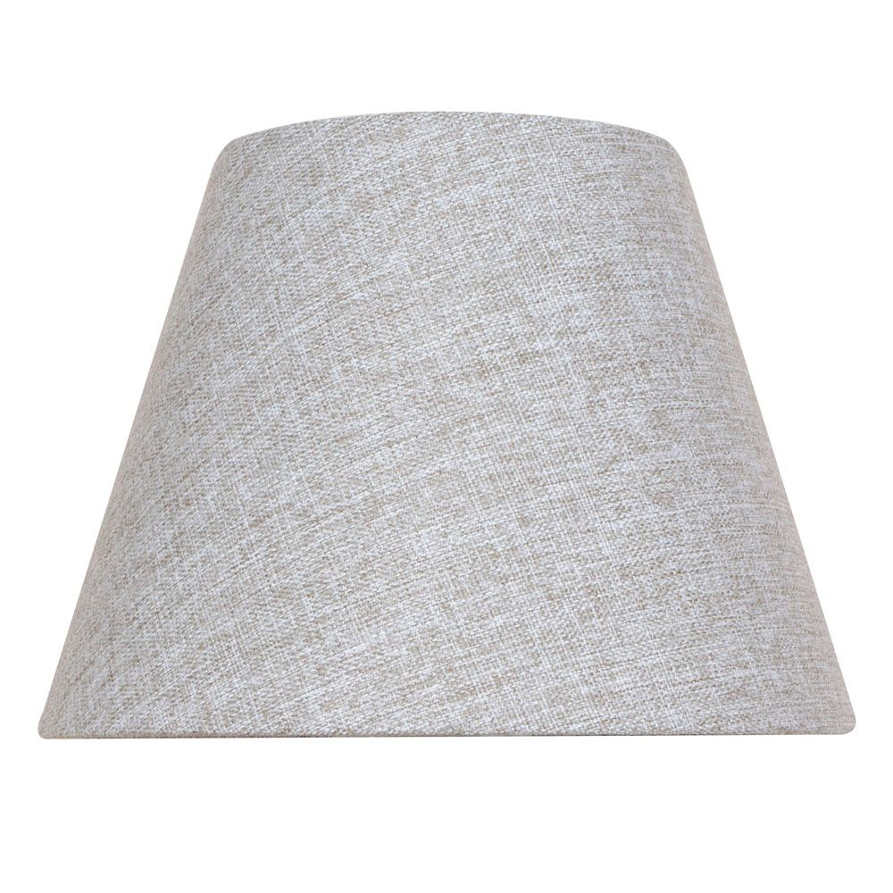 10.5  Inch  Grey Bell Table Shade
