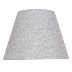 Hampton Bay 10.5  Inch  Grey Bell Table Shade